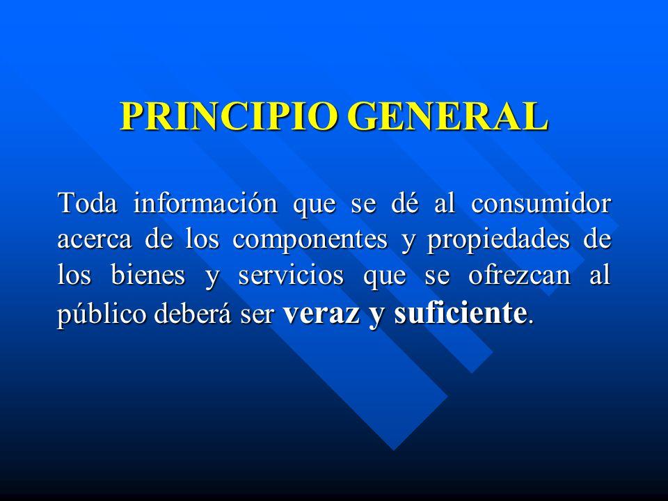 PRINCIPIO GENERAL