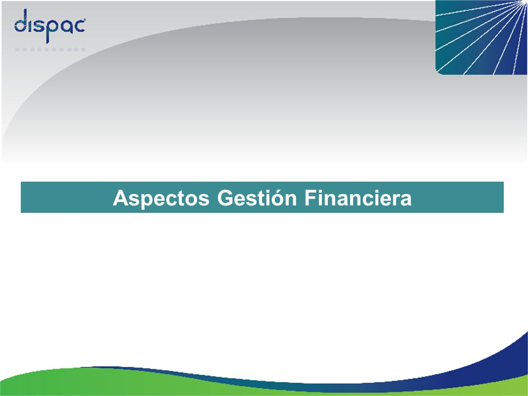 Aspectos Gestión Financiera