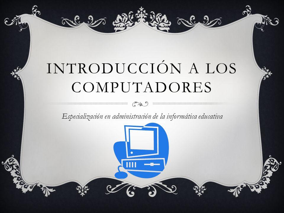 Introducción a los computadores