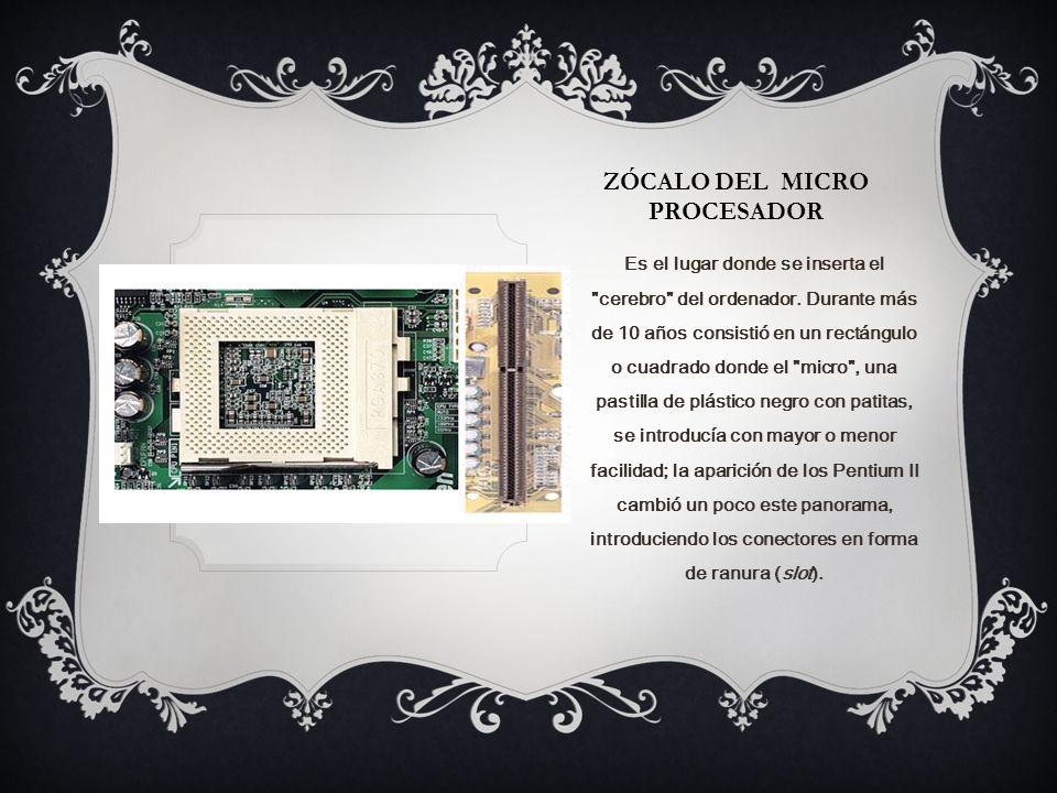 Zócalo del micro procesador