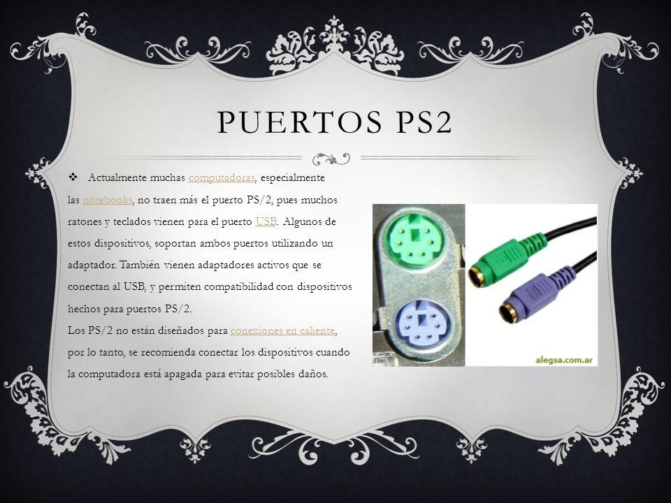 Puertos ps2