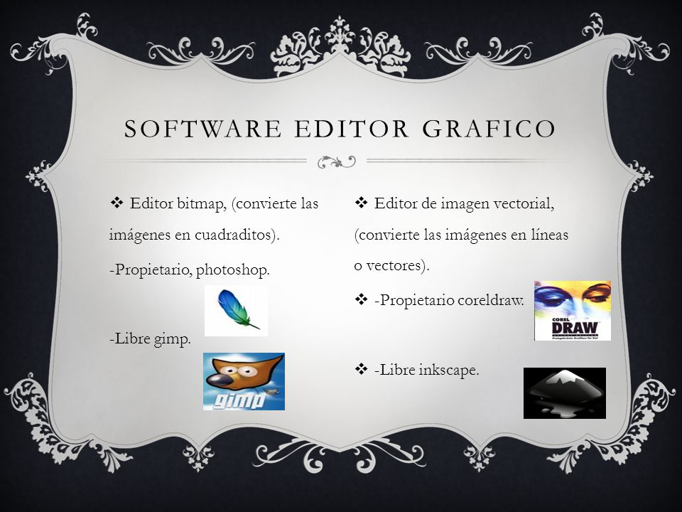 Software editor grafico
