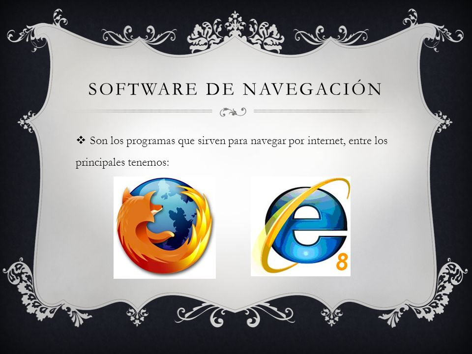 Software de navegación