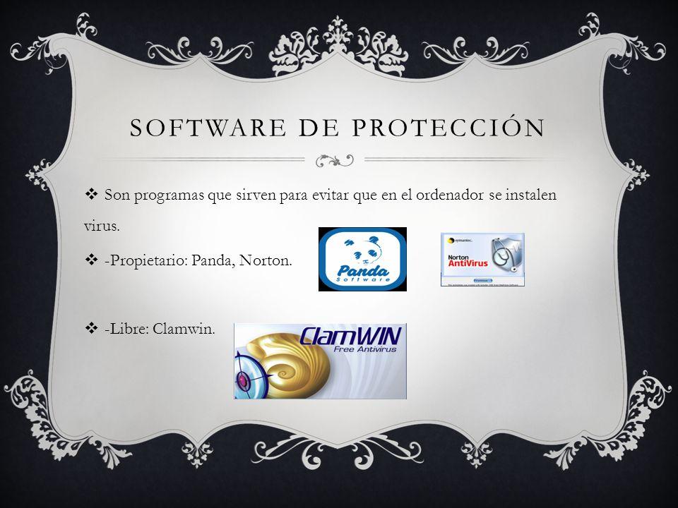 Software de protección