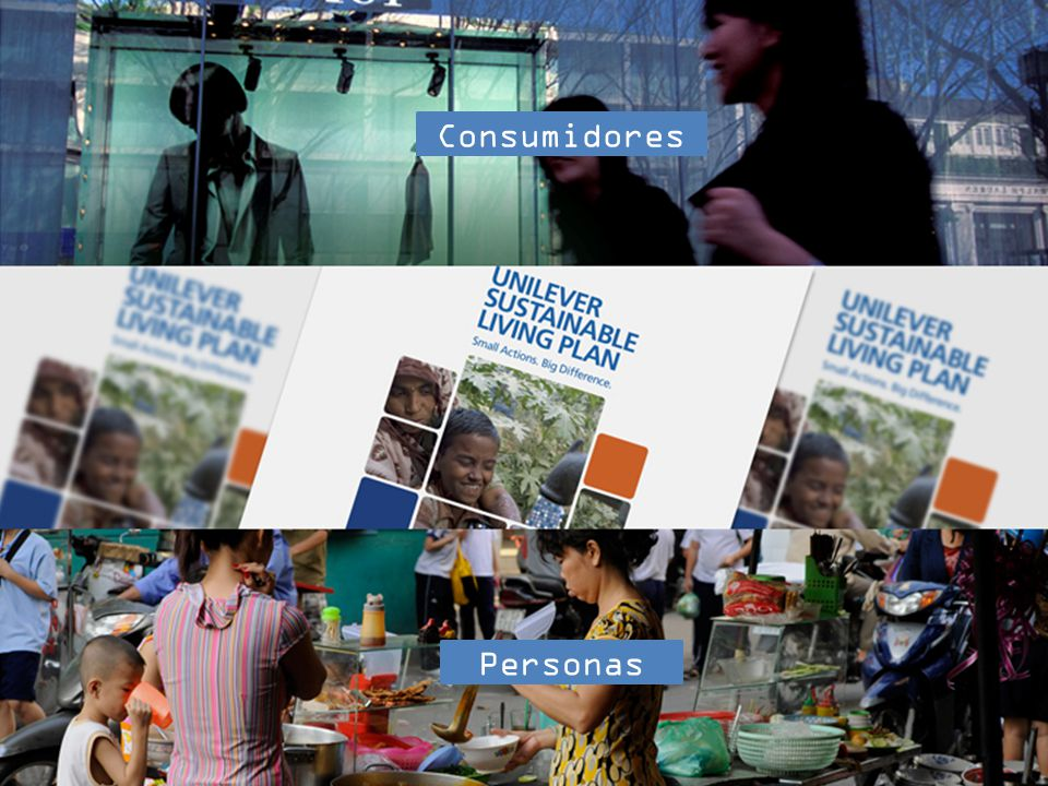 Consumidores Personas