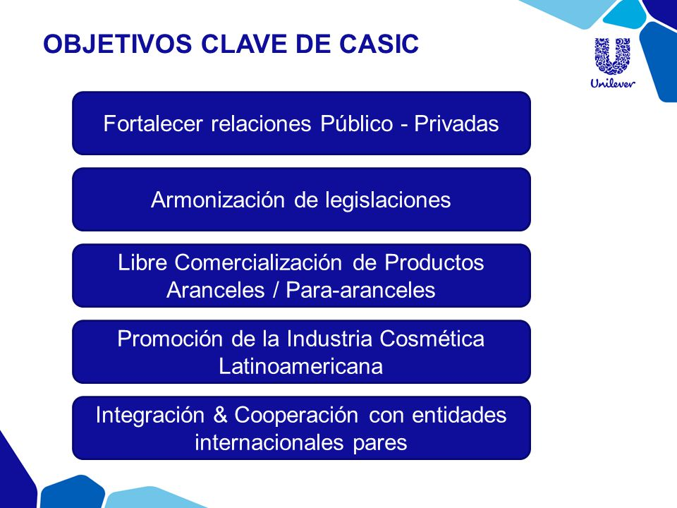 OBJETIVOS clave de casic