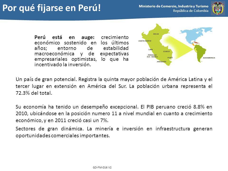 Por qué fijarse en Perú!