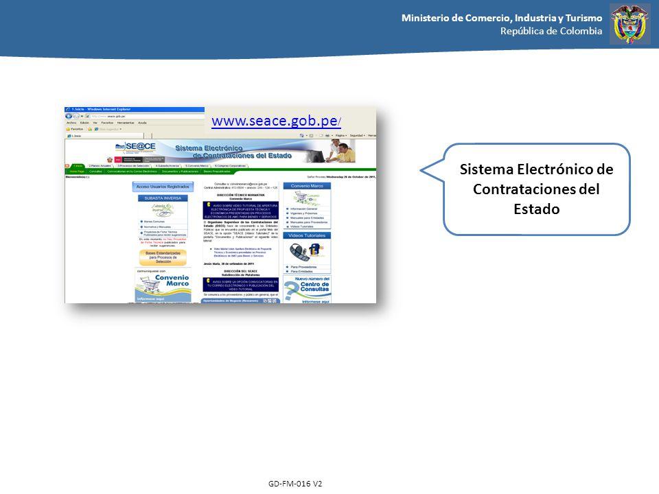 Sistema Electrónico de Contrataciones del Estado