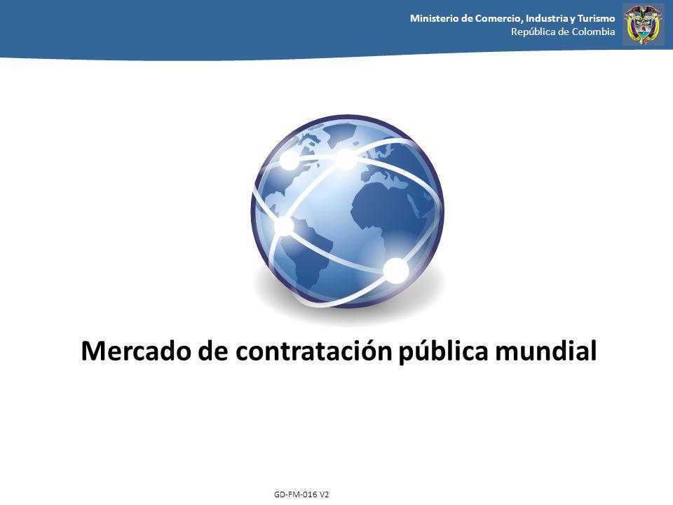 Mercado de contratación pública mundial