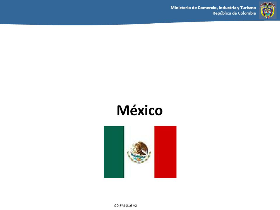 México GD-FM-016 V2