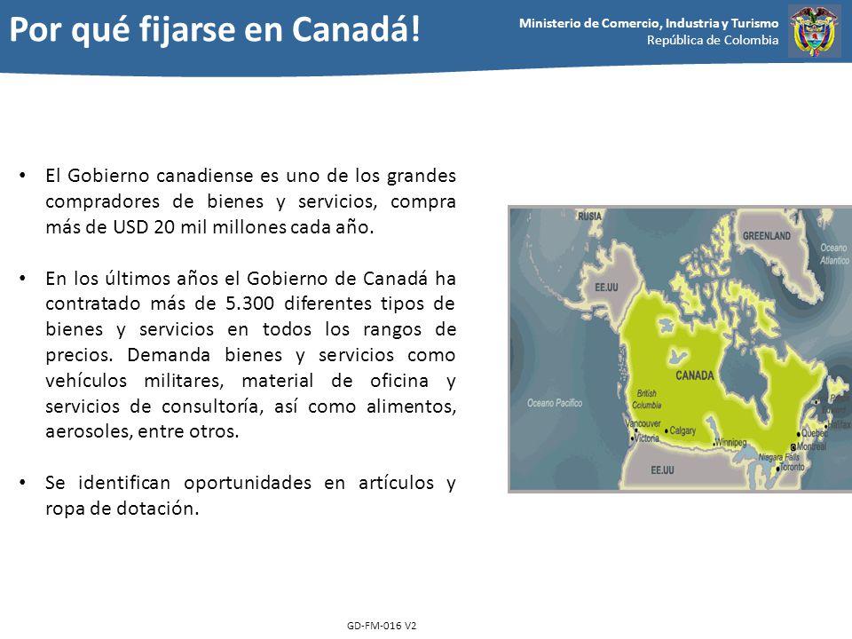 Por qué fijarse en Canadá!