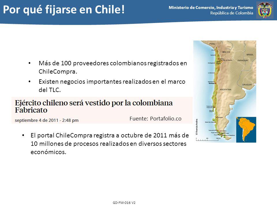 Por qué fijarse en Chile!