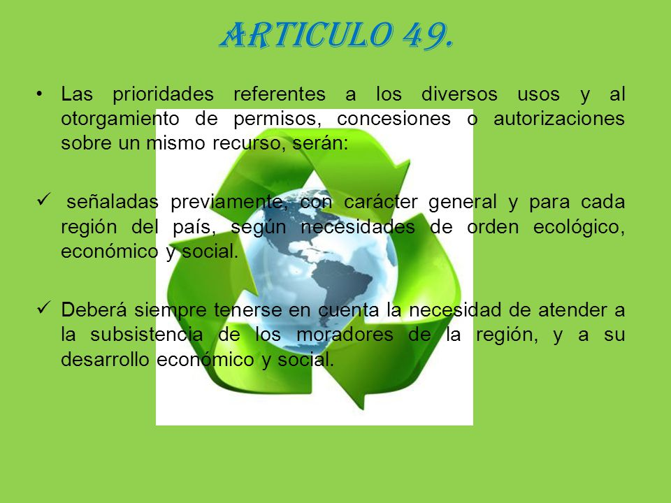 ARTICULO 49.
