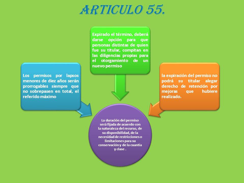 ARTICULO 55.