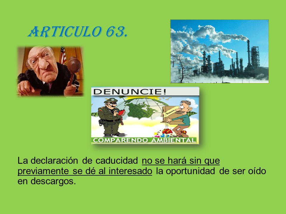 ARTICULO 63.