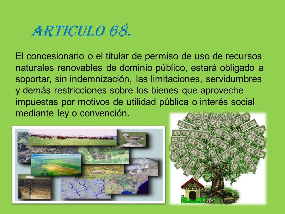 ARTICULO 68.