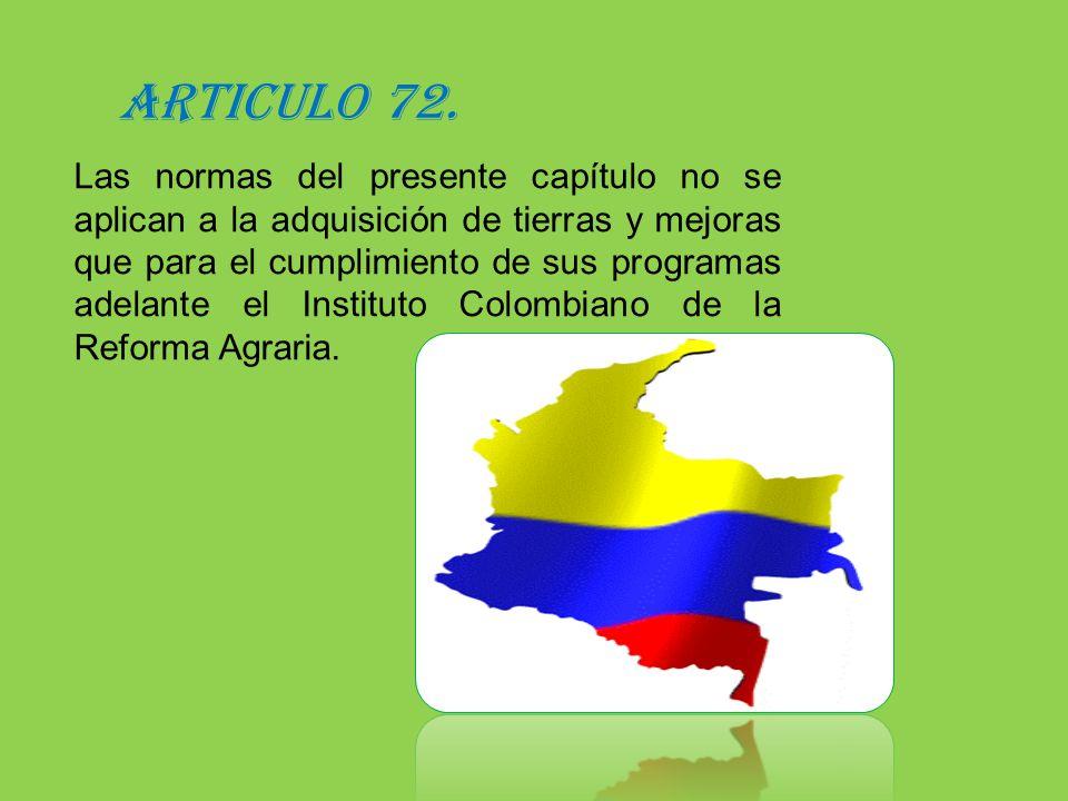 ARTICULO 72.