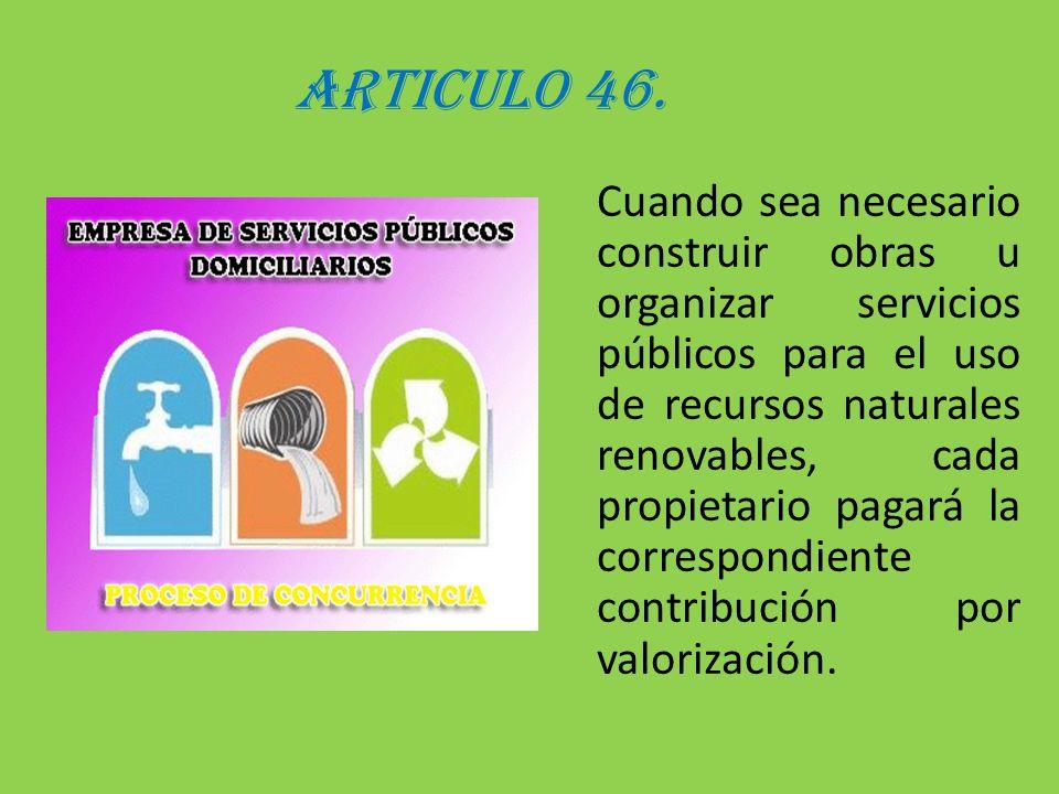 ARTICULO 46.