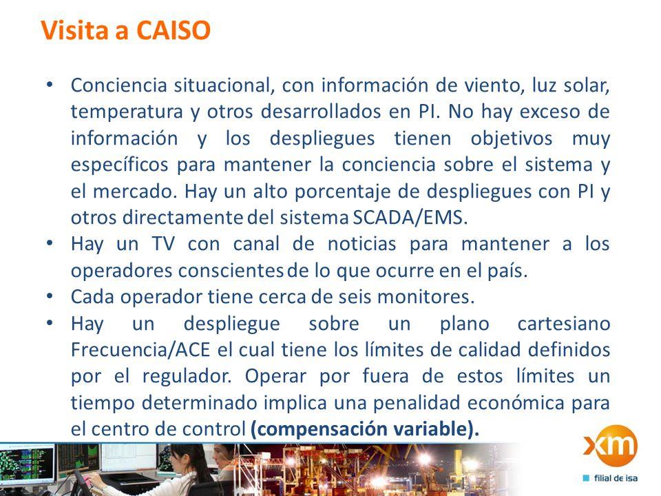 Visita a CAISO
