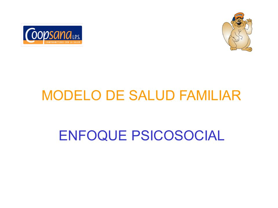 MODELO DE SALUD FAMILIAR