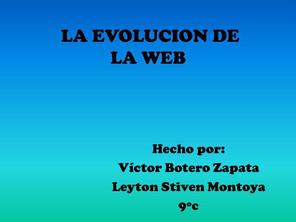 Hecho por: Víctor Botero Zapata Leyton Stiven Montoya 9ºc