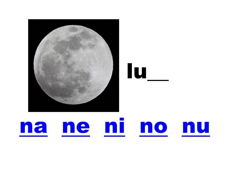 lu__ na ne ni no nu