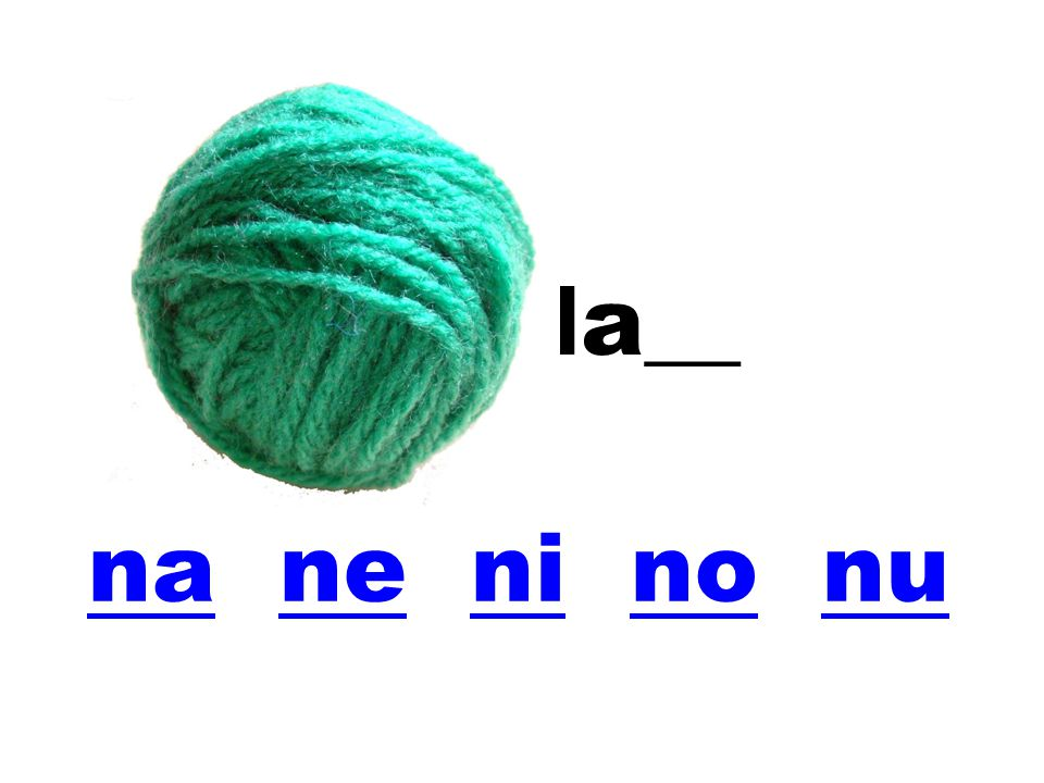 la__ na ne ni no nu
