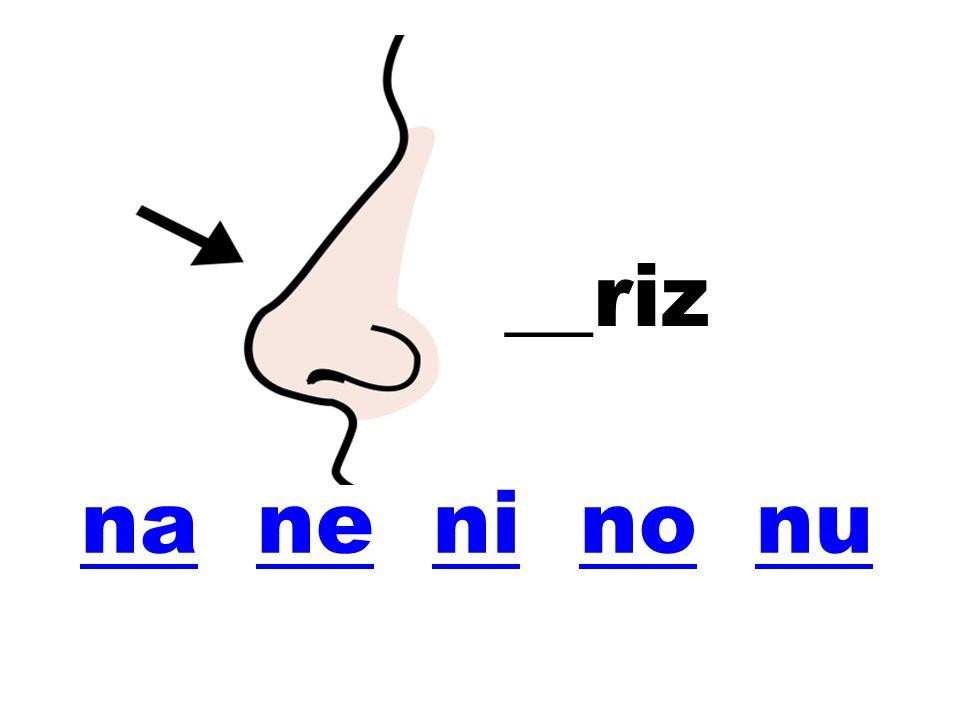 __riz na ne ni no nu