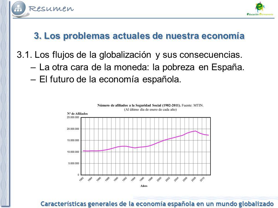 3. Los problemas actuales de nuestra economía