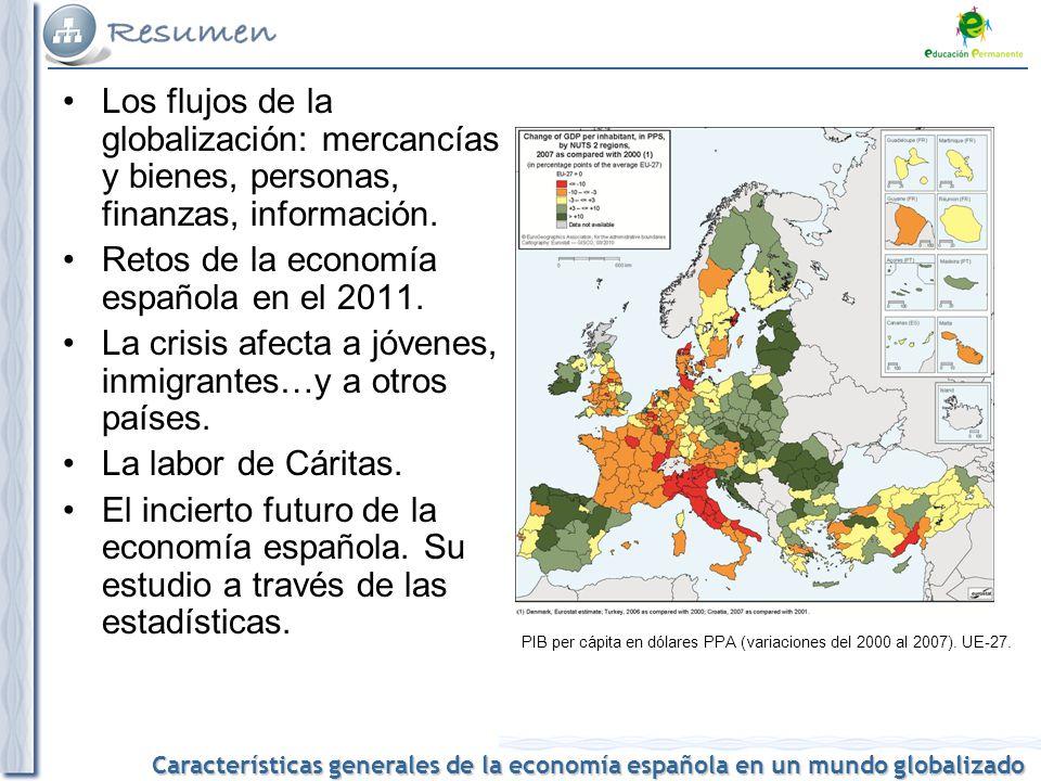 Retos de la economía española en el 2011.