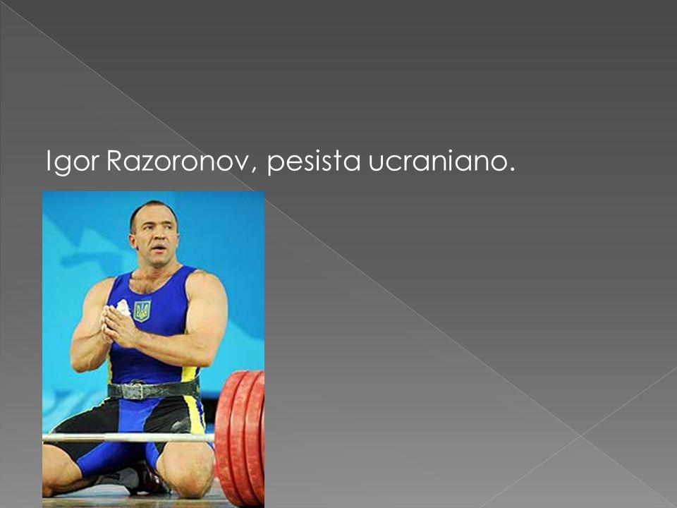 Igor Razoronov, pesista ucraniano.