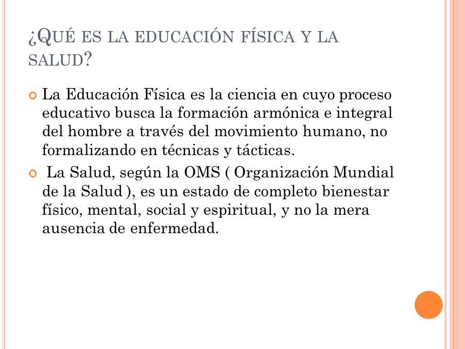 Educación Física Y Salud.. - ppt video online descargar