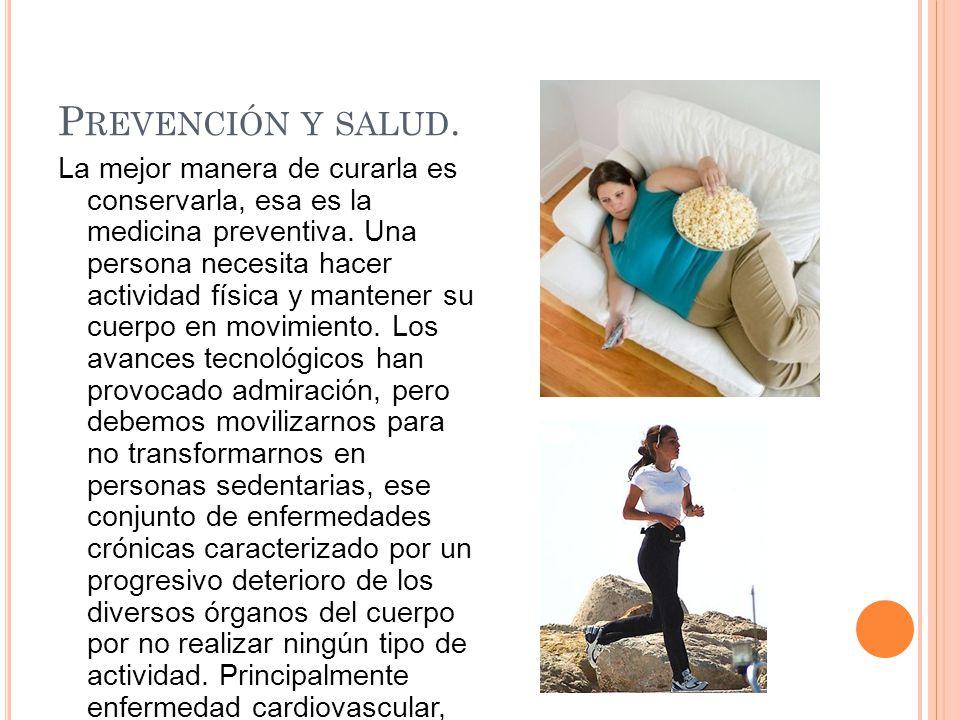 Prevención y salud.