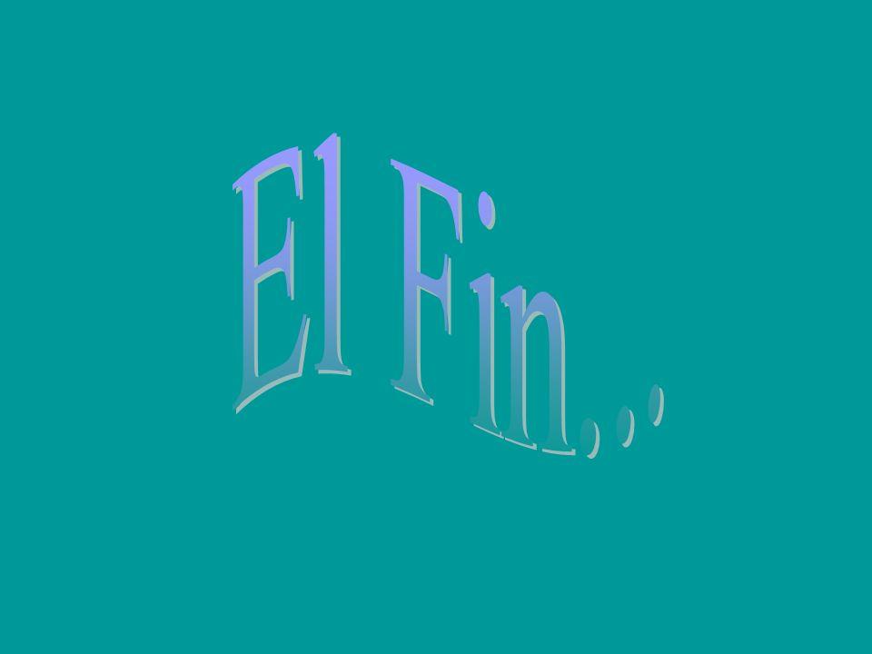 El Fin...