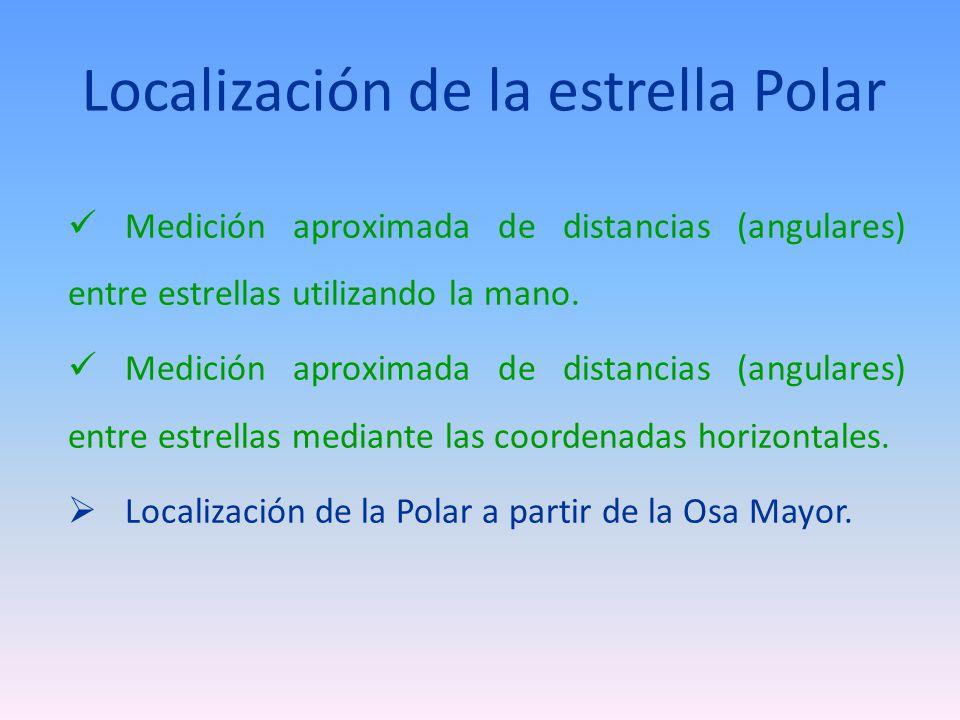 Localización de la estrella Polar