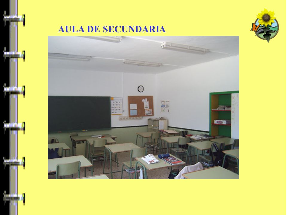 AULA DE SECUNDARIA