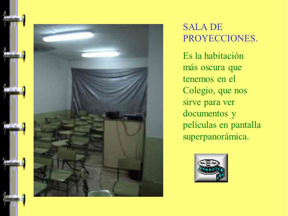 SALA DE PROYECCIONES.
