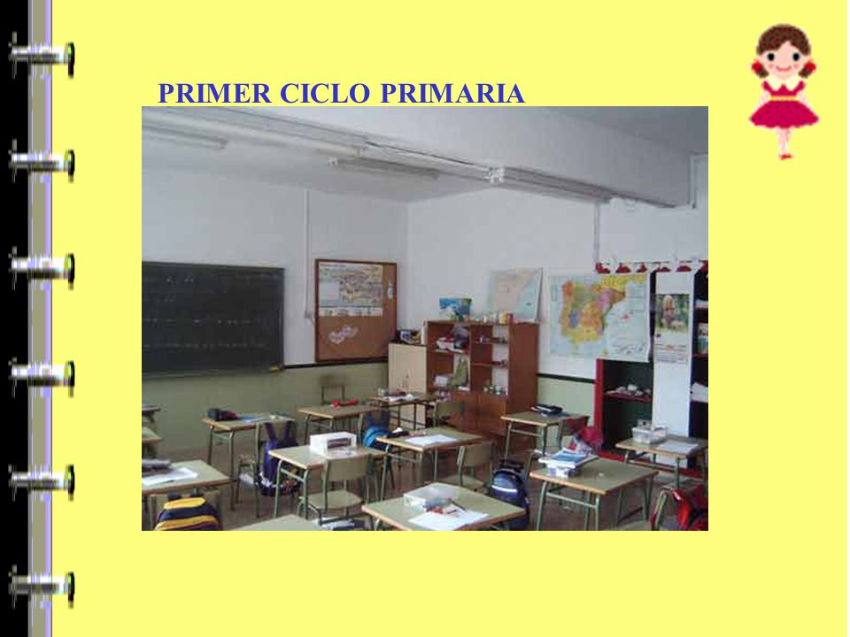 PRIMER CICLO PRIMARIA