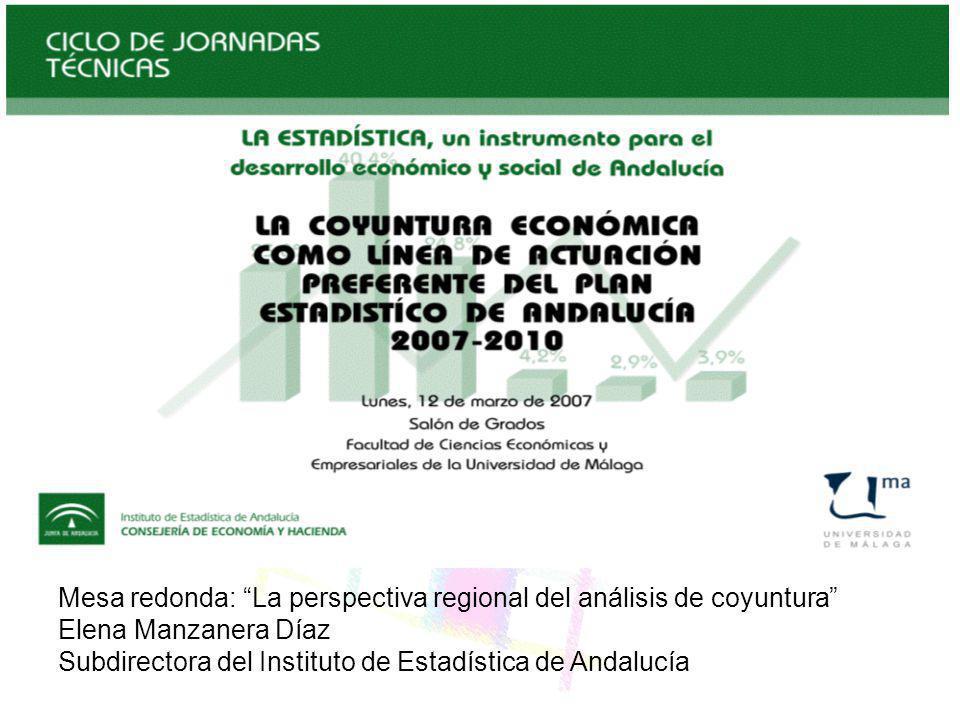 Mesa redonda: La perspectiva regional del análisis de coyuntura