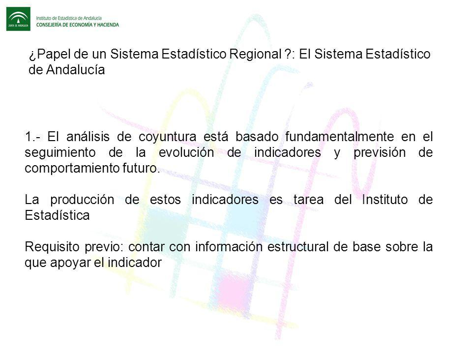 ¿Papel de un Sistema Estadístico Regional