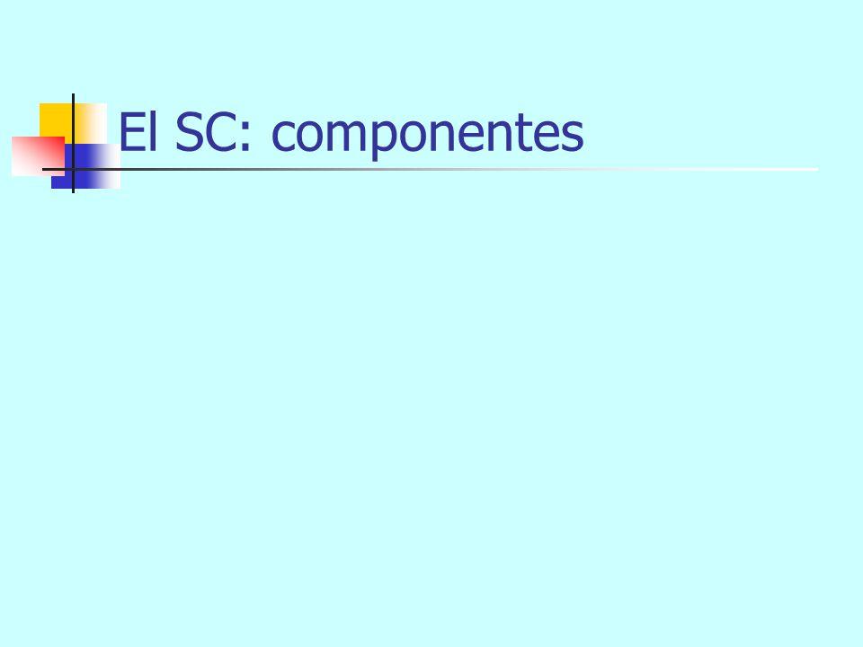 El SC: componentes