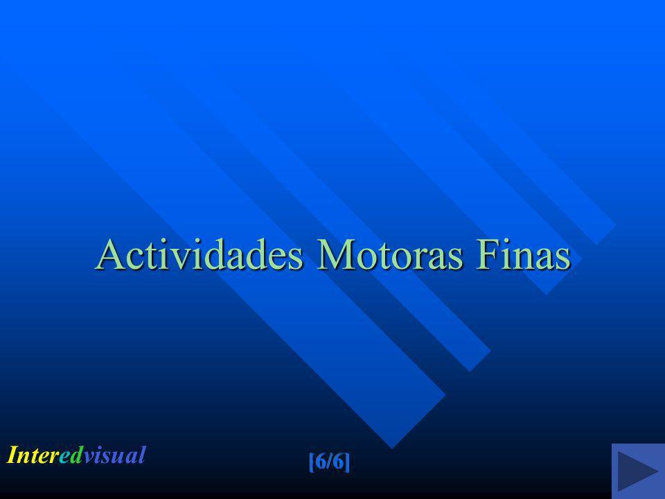 Actividades Motoras Finas