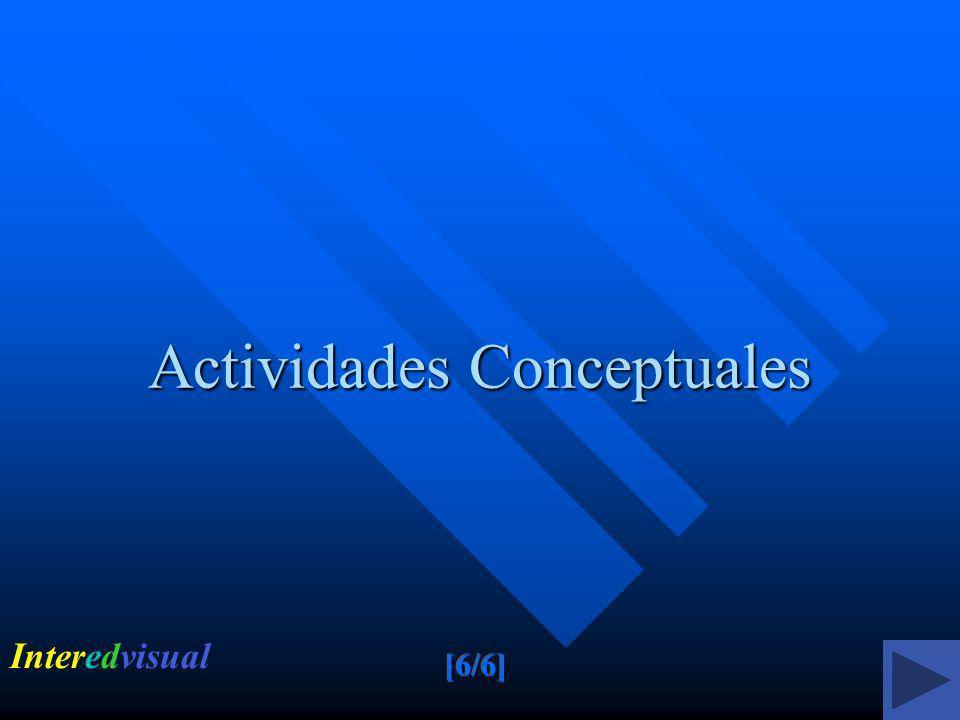 Actividades Conceptuales