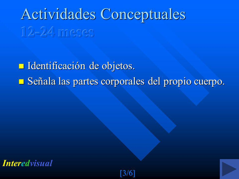 Actividades Conceptuales 12-24 meses