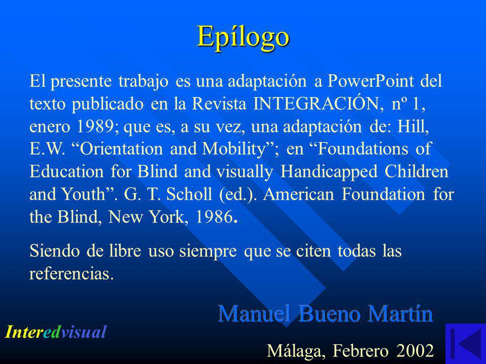 Epílogo Manuel Bueno Martín