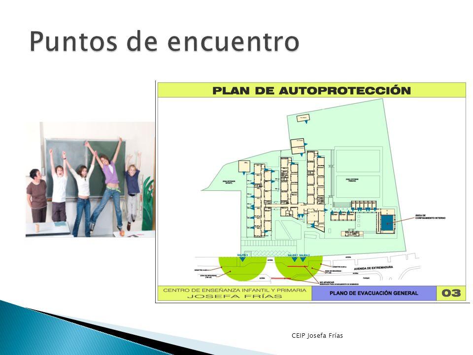 Puntos de encuentro CEIP Josefa Frías