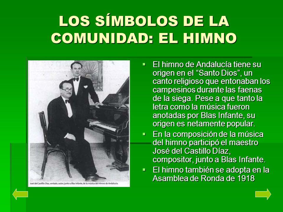 LOS SÍMBOLOS DE LA COMUNIDAD: EL HIMNO