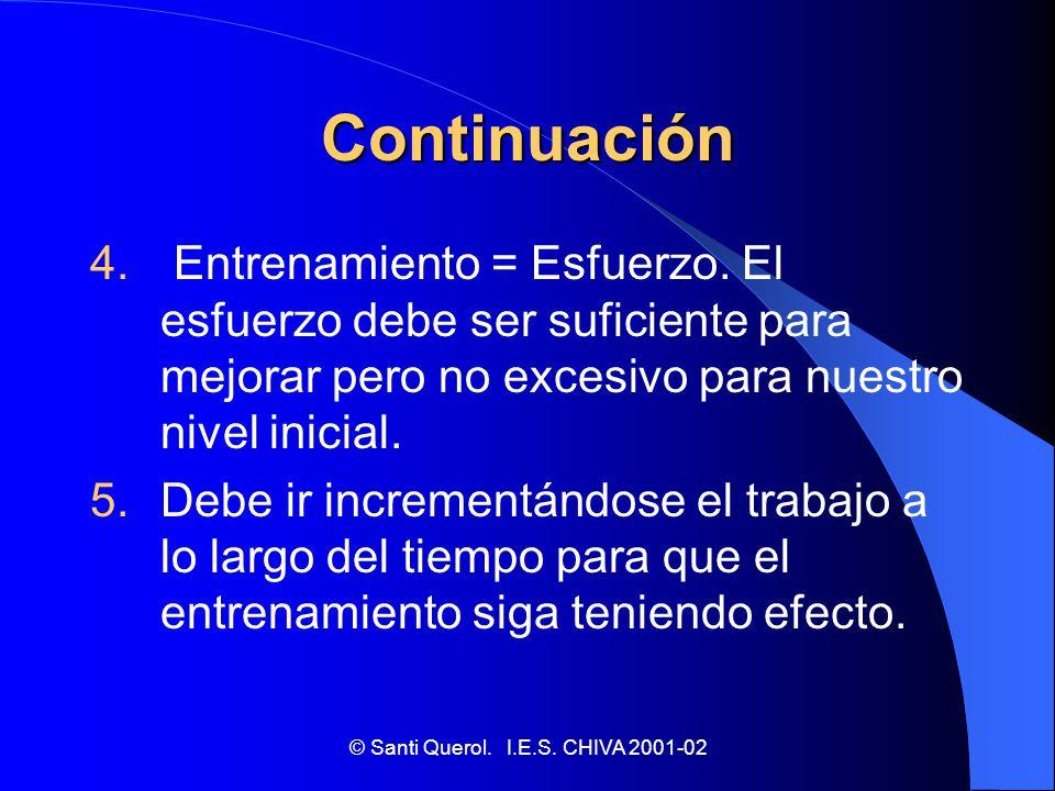© Santi Querol. I.E.S. CHIVA 2001-02