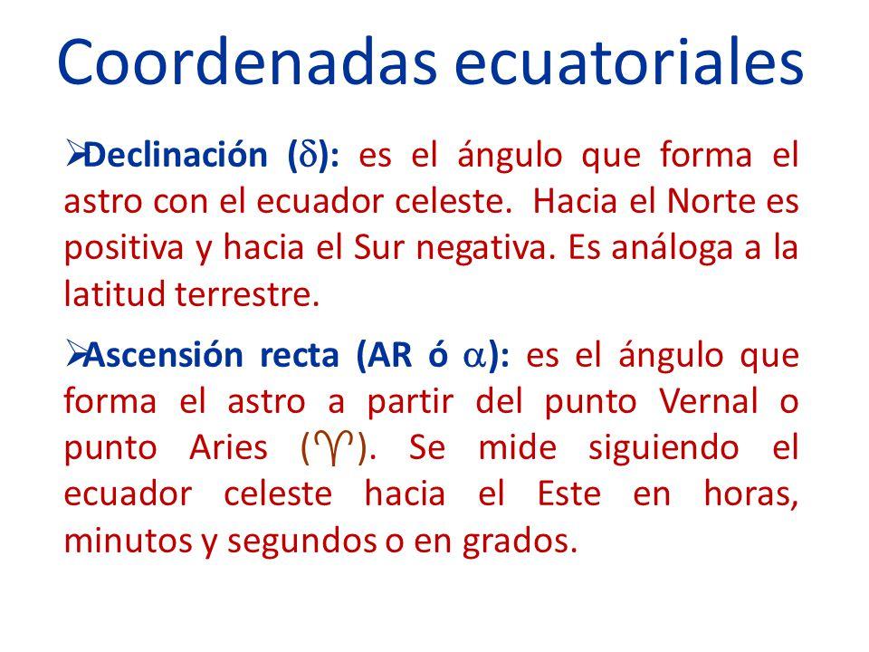 Coordenadas ecuatoriales