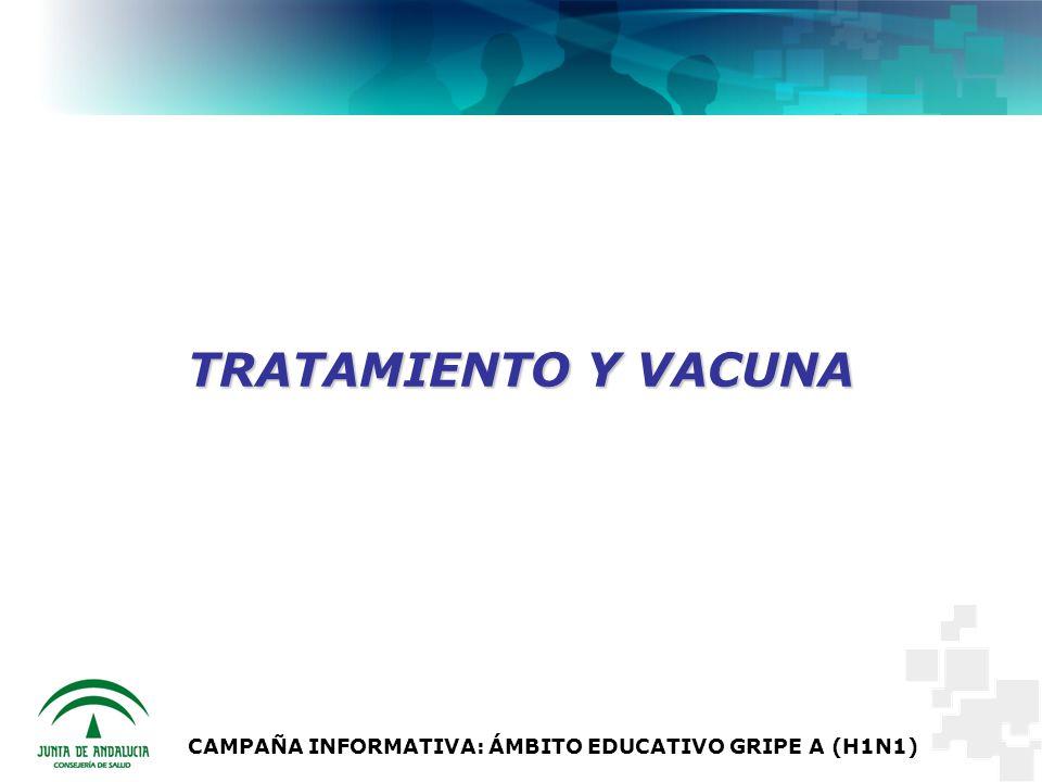 CAMPAÑA INFORMATIVA: ÁMBITO EDUCATIVO GRIPE A (H1N1)